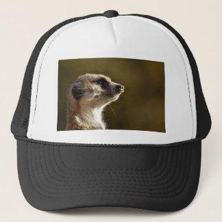 Meerkat Animal Nature Zoo Tiergarten Small Fur Trucker Hat