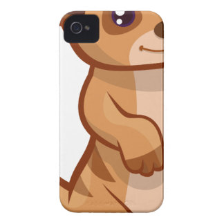 Meerkat Cartoon Case-Mate iPhone 4 Case