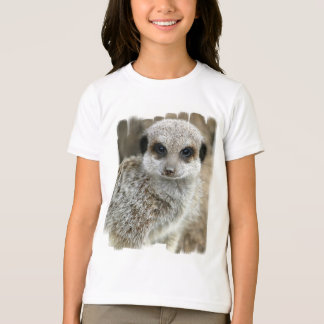Meerkat Face Girl's T-Shirt
