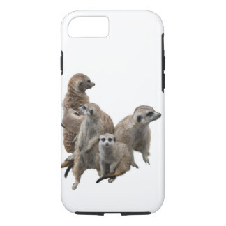 Meerkat Family iPhone 7 Case