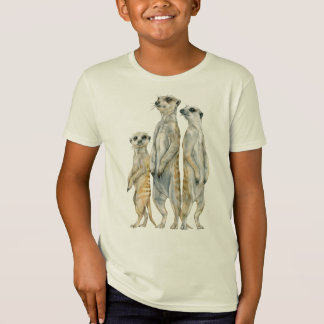 Meerkat Family Organic Unisex T-Shirt