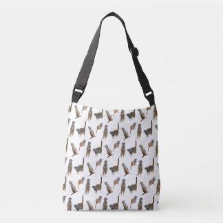 Meerkat Frenzy All-Over-Print Bag (choose colour)