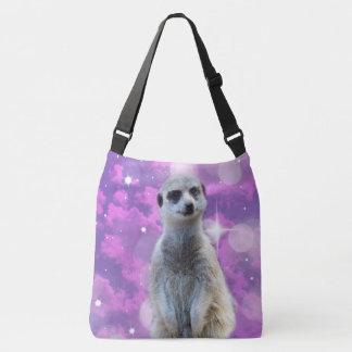 Meerkat Glitter Ball,_Full_Print_Cross_Body_Bag Crossbody Bag