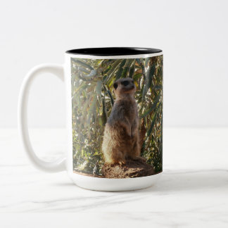 Meerkat_Guard,_Two_Toned_Coffee_Mug. Two-Tone Coffee Mug