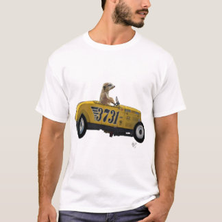 Meerkat in Hot Rod 2 T-Shirt