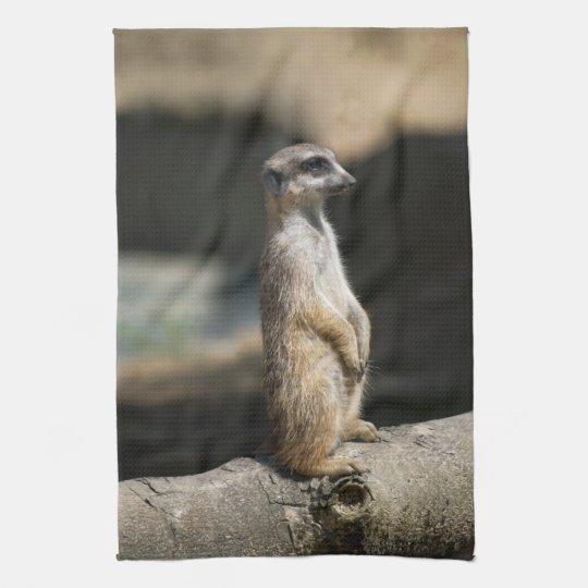 Meerkat Kitchen Towel