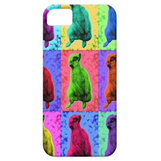 Meerkat Looking Up Pop Art Popart Multi-Panel Case For The iPhone 5