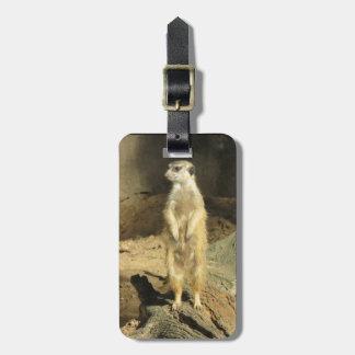 Meerkat Lookout Luggage Tag
