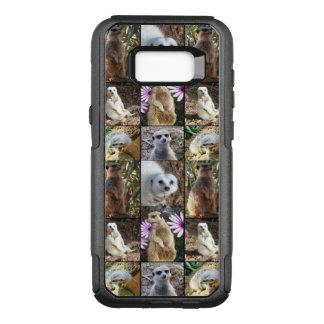 Meerkat Photo Collage, Samsung Galaxy S8+ Case.