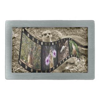 Meerkat Photo Strip, Belt Buckle