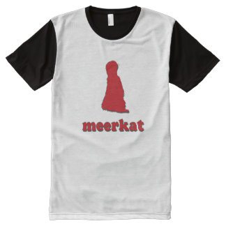 Meerkat (png) All-Over-Print T-Shirt