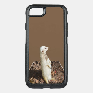 Meerkat Popout Art, iPhone 7 Defender Case