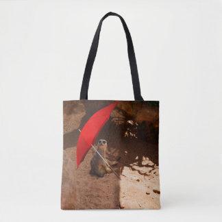Meerkat Sun Smart, full Print Shopping Bag