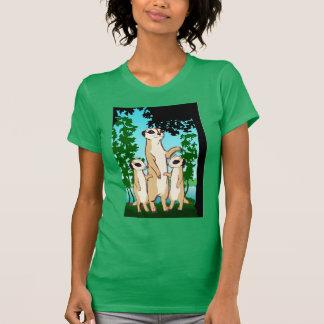 Meerkat T shirt, Family walk T-Shirt