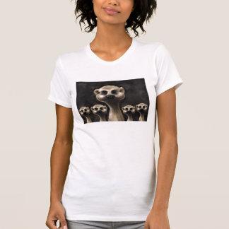 Meerkat woman's Tee Shirt
