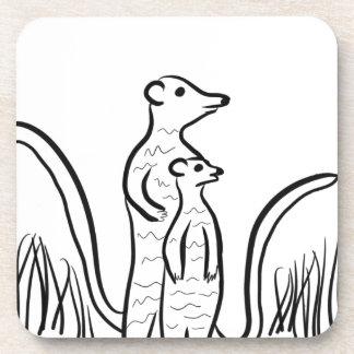 Meerkats Coaster