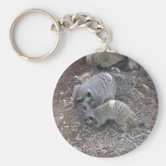 Meerkats Keychain
