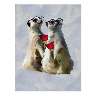 Meerkats on Love Parade Postcard