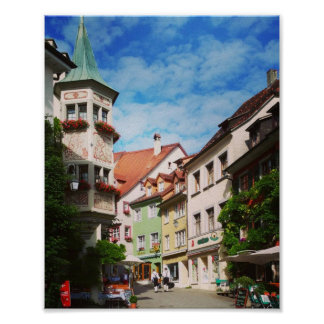 Meersburg on Lake Constance Town. Germany Poster