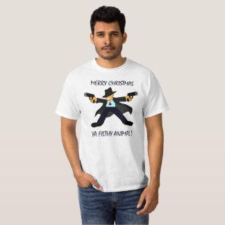 Meery christmas you  filthy animal T-Shirt