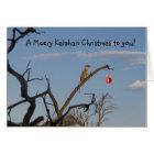 Meery Kalahari Christmas - Seaons Greetings Card