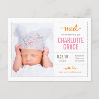 Personalised baby gifts baby products zazzle postcards negle Image collections
