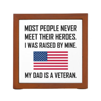 Meet Heroes My Dad A Veteran Desk Organizer