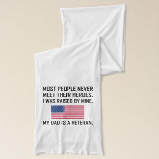 Meet Heroes My Dad A Veteran Scarf