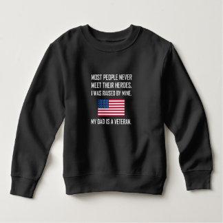 Meet Heroes My Dad A Veteran Sweatshirt