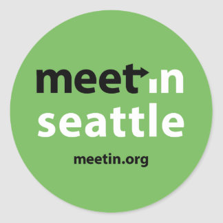 Meet-in Seattle sticker