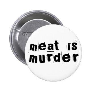 Meet Is Murder 2 Inch Round Button