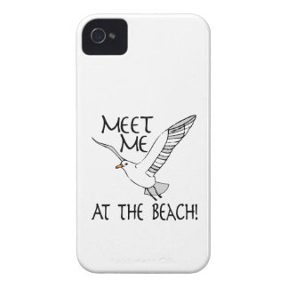 Meet Me At The Beach! iPhone 4 Cases