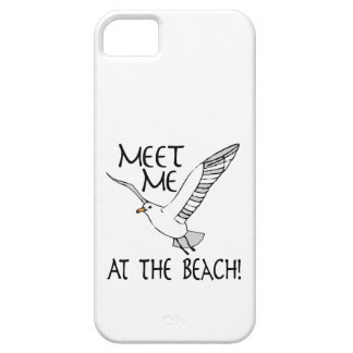 Meet Me At The Beach! iPhone 5 Covers