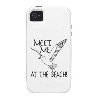 Meet Me At The Beach! Vibe iPhone 4 Cases