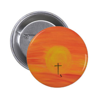 Meet Me At The Cross 2 Inch Round Button