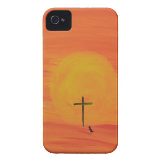 Meet Me At The Cross iPhone 4 Case-Mate Cases