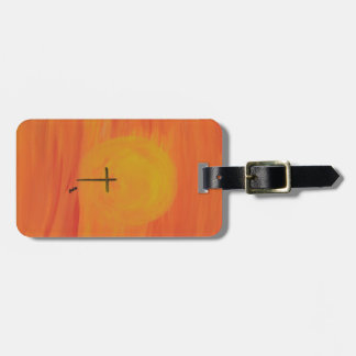 Meet Me At The Cross Luggage Tag