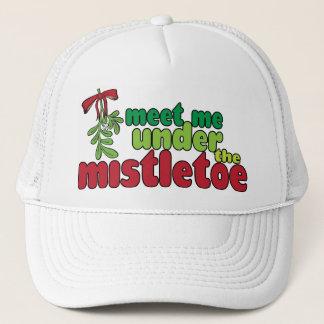 MEET ME UNDER THE MISTLETOE Cap
