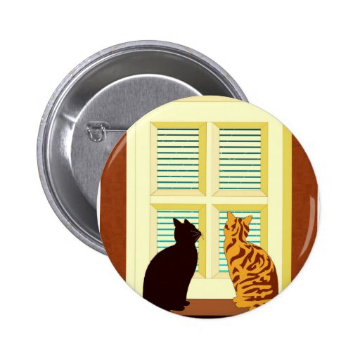 Meet the cats in window pins