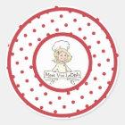 Meet Vivi LeDish Polka Dot Sticker