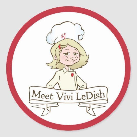 Meet Vivi LeDish Stickers