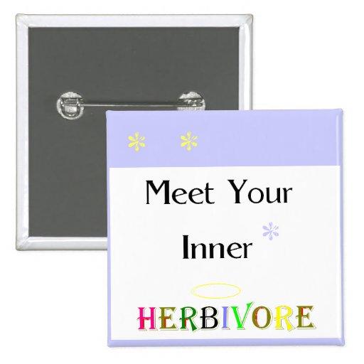 Meet Your Inner Herbivore Button
