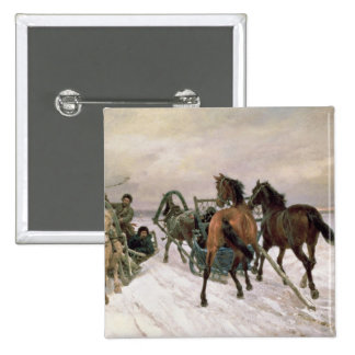 Meeting, 1876 2 inch square button