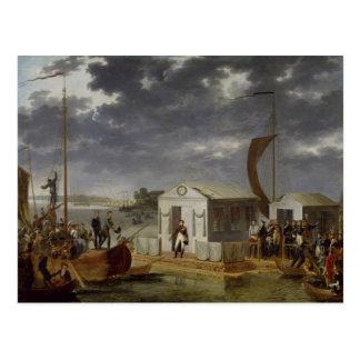 Meeting between Napoleon Bonaparte Postcard