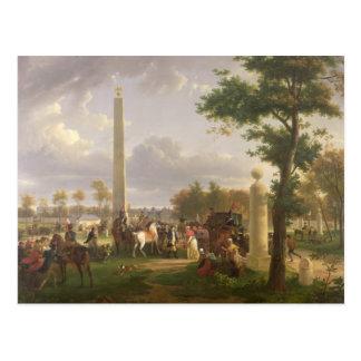 Meeting between Napoleon I  and Pope Postcard
