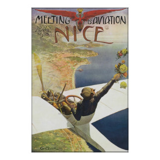 Meeting D' Aviation Poster
