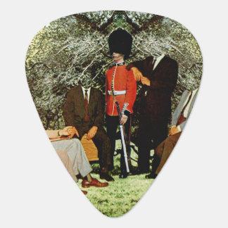 Meeting in the Garden Guitar Pick