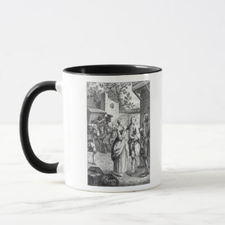 Meeting of Chevalier Des Greux and Manon Mug