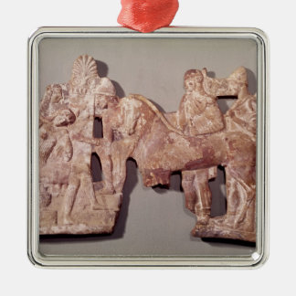 Meeting of Orestes and Electra at Agamemnon Metal Ornament