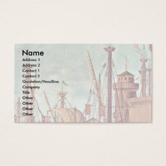 Meeting Of The Betrothed And The Beginning Business Card